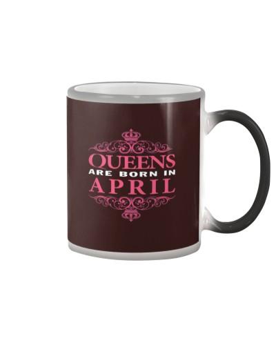 queens are born in april 1 4