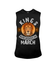 Kings are born in march t-shirts Sleeveless Tee thumbnail