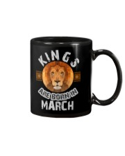 Kings are born in march t-shirts Mug thumbnail