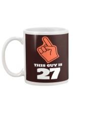 this guy is 27 tee Mug back