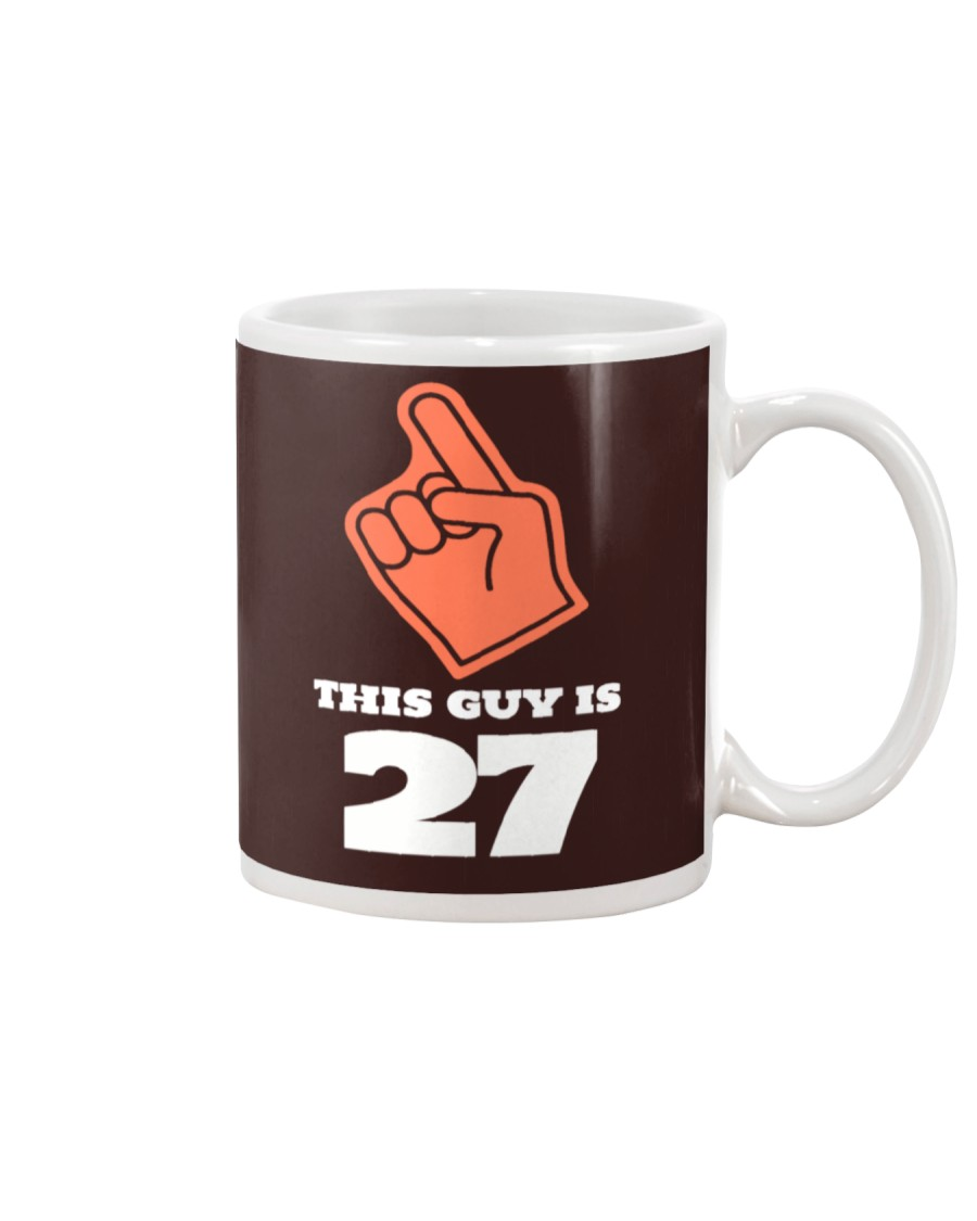 this guy is 27 tee Mug