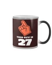 this guy is 27 tee Color Changing Mug thumbnail