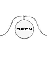 METALLIC NECKLACE - EMINEM - 2020 Metallic Circle Necklace front