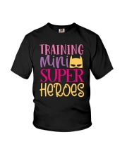 Training my super heroes Tee for teacher Youth T-Shirt thumbnail