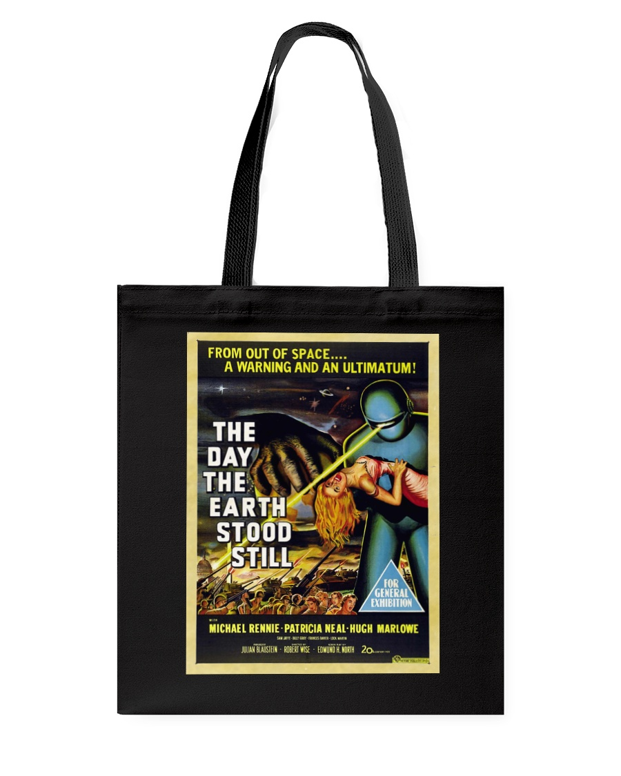 Ultimatum alla Terra 1951 shirts and bags Tote Bag