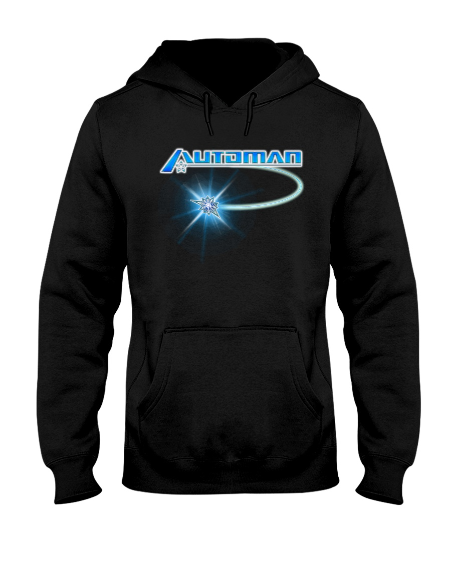 Automan - Cursore - Shirts and Bags Hooded Sweatshirt