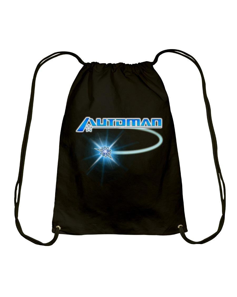 Automan - Cursore - Shirts and Bags Drawstring Bag