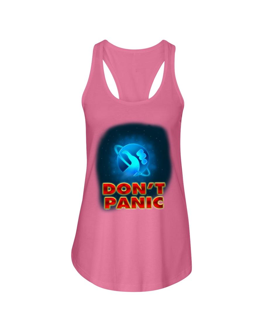 Don't Panic - Guida Galattica per Autostoppisti Ladies Flowy Tank