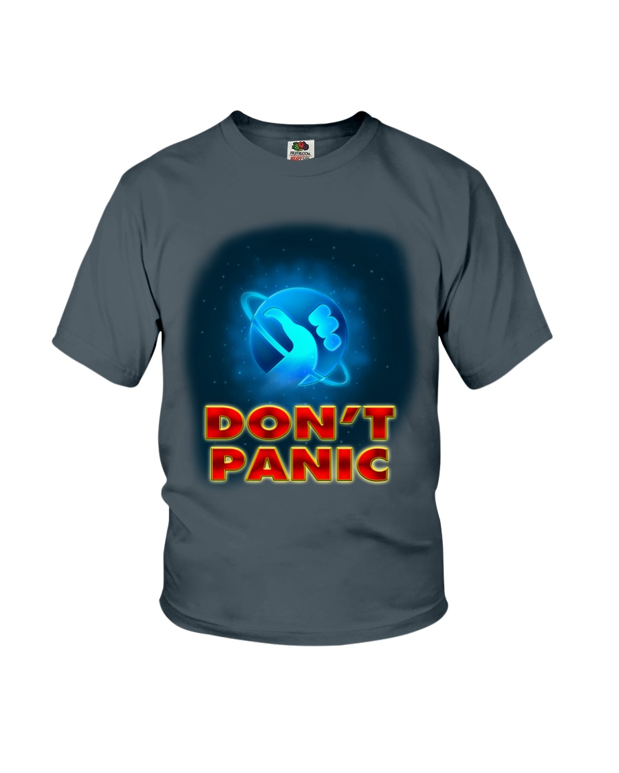 Don't Panic - Guida Galattica per Autostoppisti Youth T-Shirt