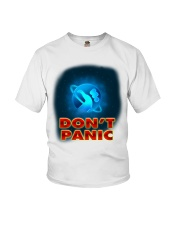 Don't Panic - Guida Galattica per Autostoppisti Youth T-Shirt tile