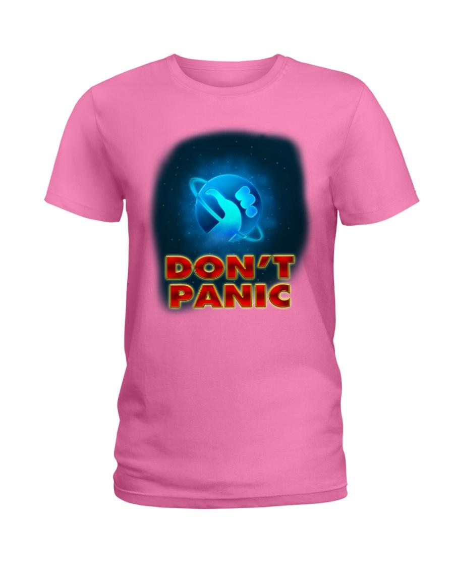Don't Panic - Guida Galattica per Autostoppisti Ladies T-Shirt