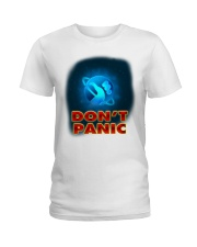 Don't Panic - Guida Galattica per Autostoppisti Ladies T-Shirt tile
