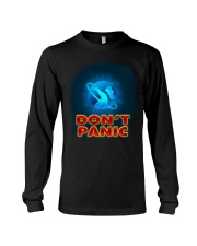 Don't Panic - Guida Galattica per Autostoppisti Long Sleeve Tee tile