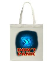 Don't Panic - Guida Galattica per Autostoppisti Tote Bag thumbnail