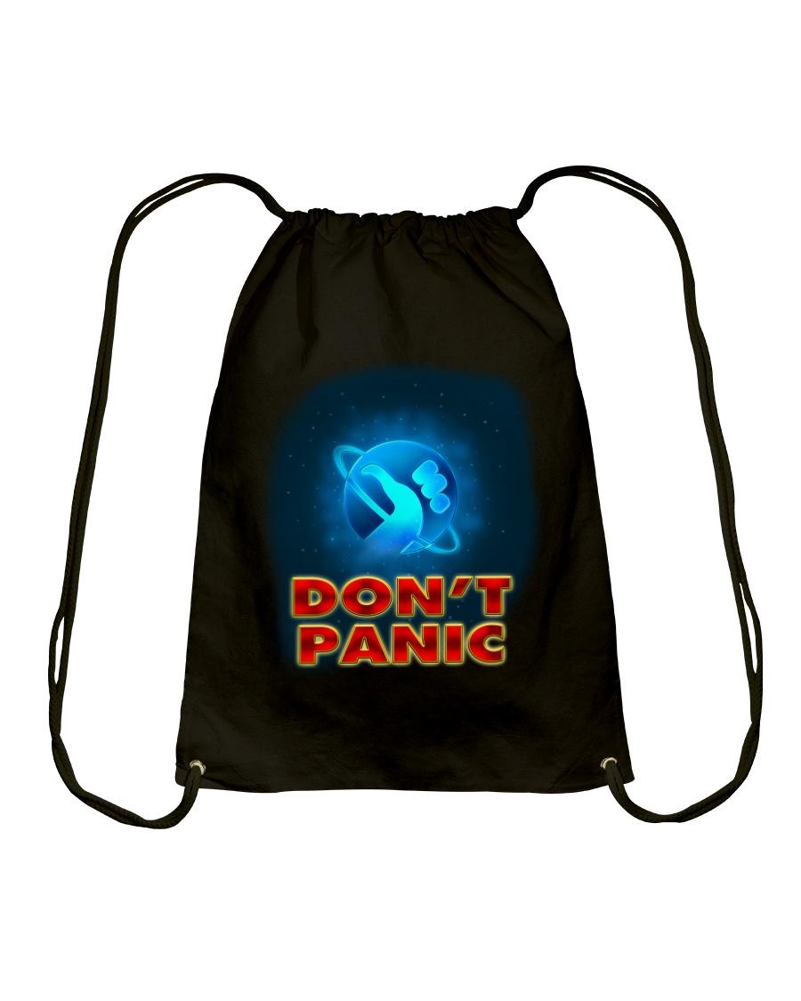 Don't Panic - Guida Galattica per Autostoppisti Drawstring Bag