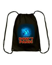 Don't Panic - Guida Galattica per Autostoppisti Drawstring Bag thumbnail