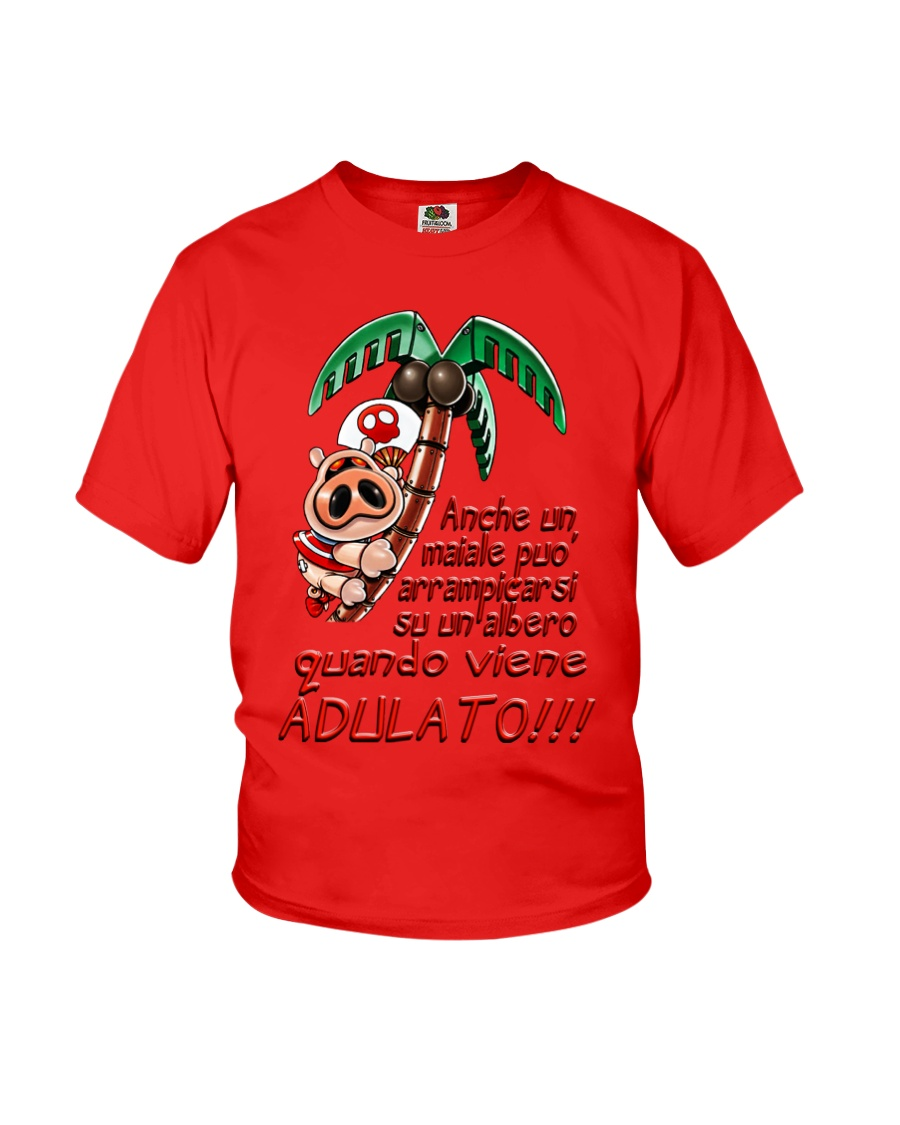 Maiale adulato - Yattaman Shirts and Bags Youth T-Shirt