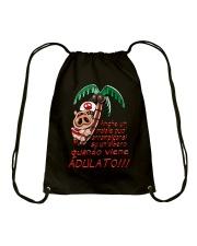 Maiale adulato - Yattaman Shirts and Bags Drawstring Bag front