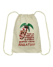 Maiale adulato - Yattaman Shirts and Bags Drawstring Bag tile