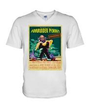 Il pianeta proibito 1956 - Shirts and Bags V-Neck T-Shirt thumbnail