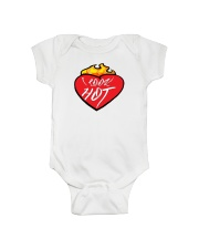I look hot Flame Heart- Shirts and Bags Onesie thumbnail