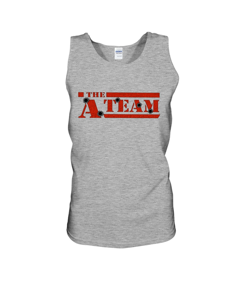 Alpha Team shirts and bags Unisex Tank