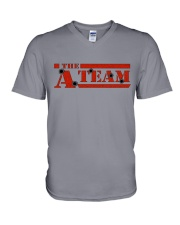 Alpha Team shirts and bags V-Neck T-Shirt front