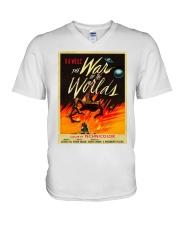 La Guerra dei Mondi shirts V-Neck T-Shirt thumbnail