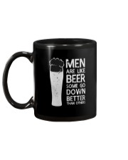 MEN ARE LIKE BEER SOME GO DOWN BETTER THAN OTHERS Mug back