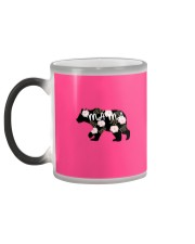 Womens Mama Bears Cute Color Changing Mug color-changing-left