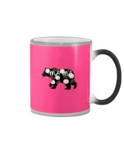 Womens Mama Bears Cute Color Changing Mug color-changing-right