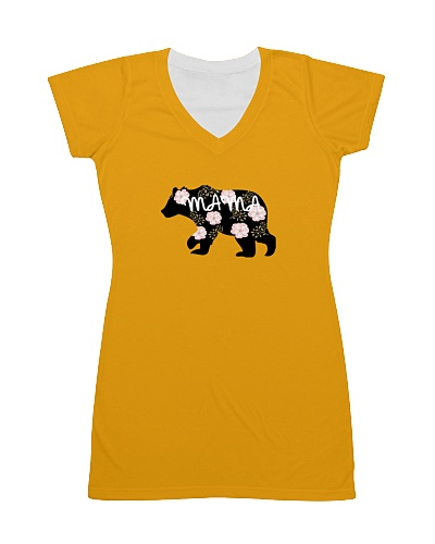 Womens Mama Bears Cute