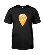 Love Family Home Is Here Premium Fit Mens Tee thumbnail