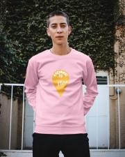 Love Family Home Is Here Crewneck Sweatshirt apparel-crewneck-sweatshirt-lifestyle-01