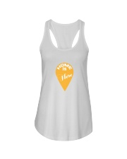 Love Family Home Is Here Ladies Flowy Tank thumbnail