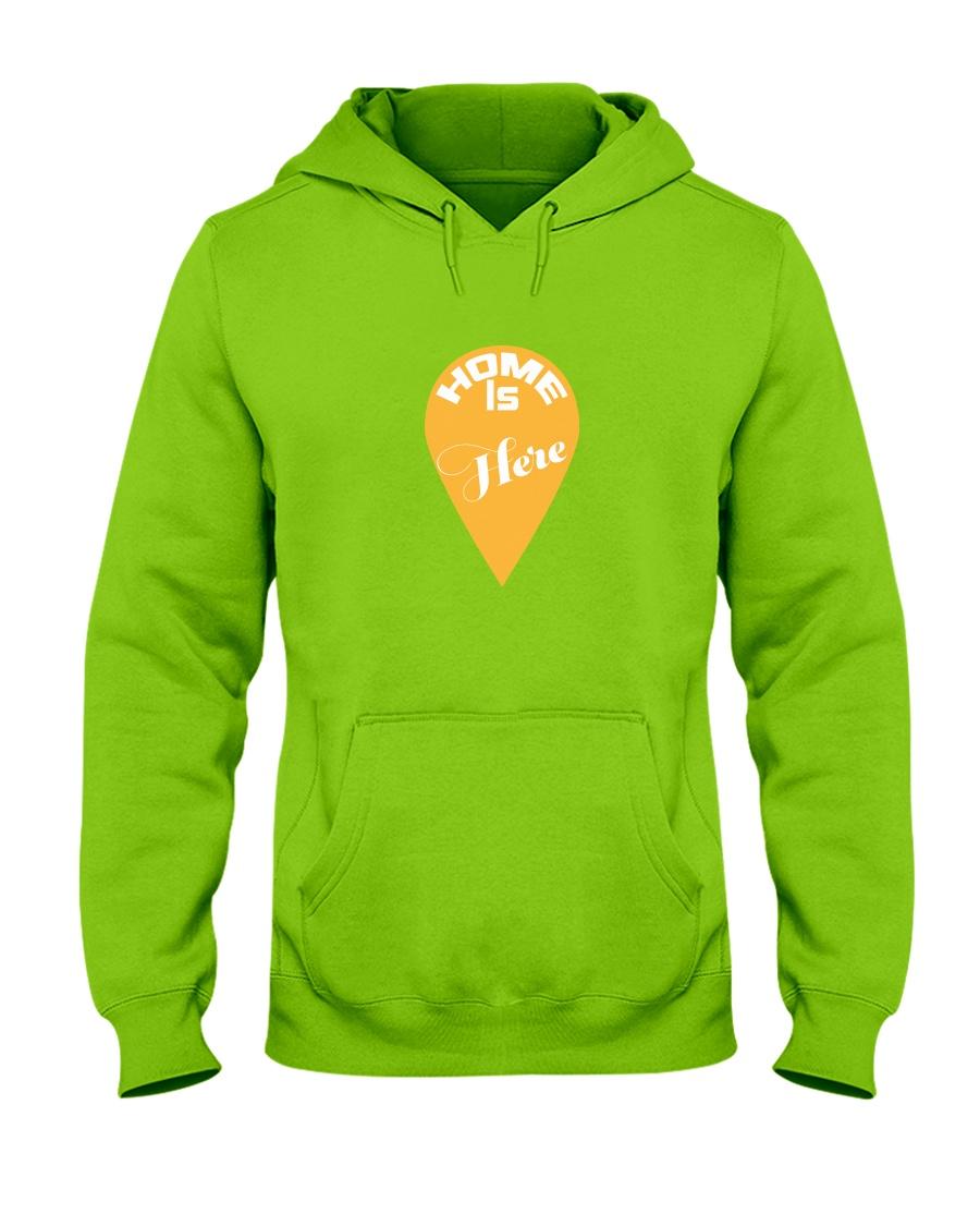 Love Family Home Is Here Hooded Sweatshirt