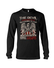 The devil whispered to me I am coming to you Long Sleeve Tee thumbnail