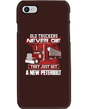 Old Trucker never Die they just get a New Pete Phone Case thumbnail