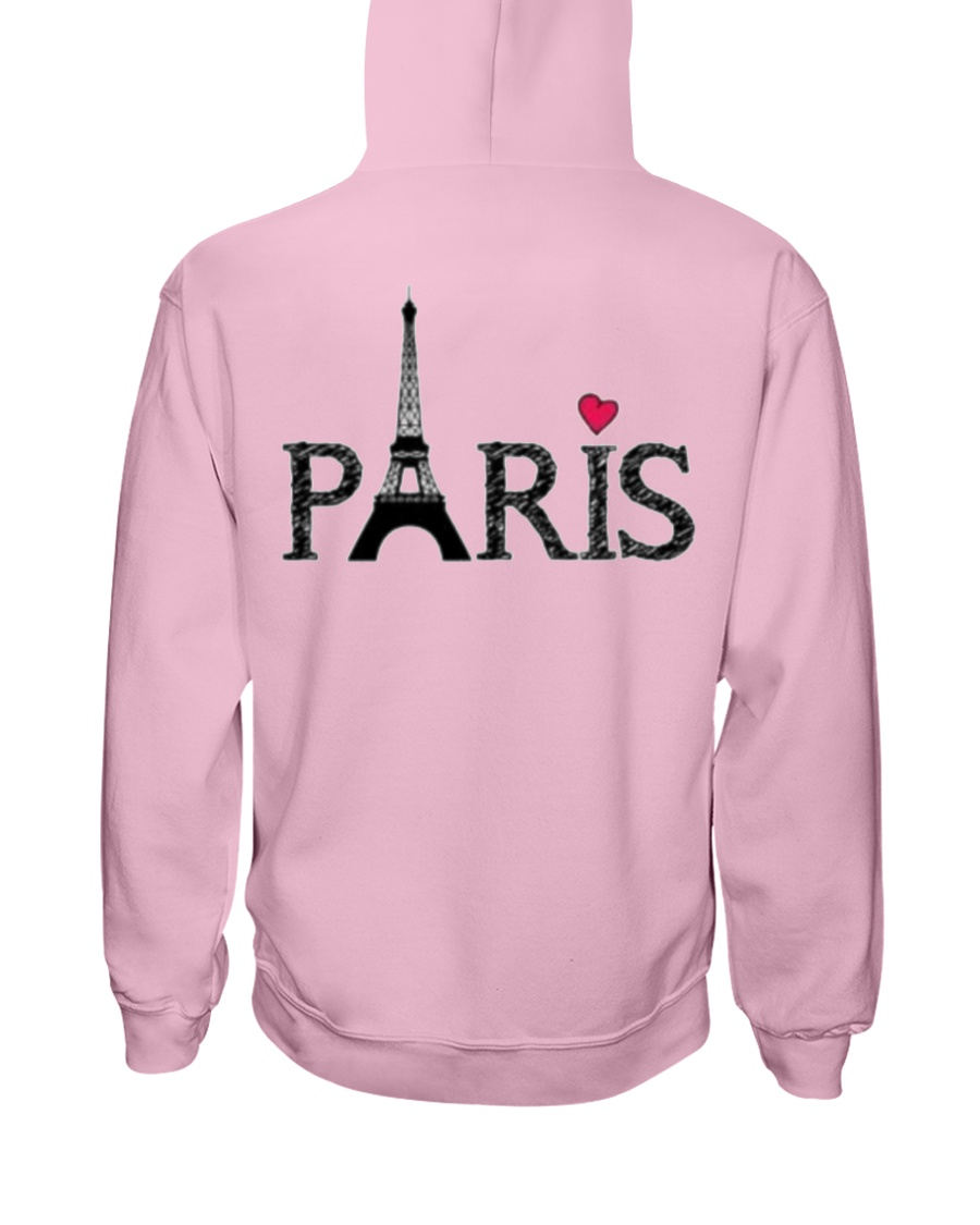 Love Paris Hooded Sweatshirt