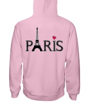 Love Paris Hooded Sweatshirt back