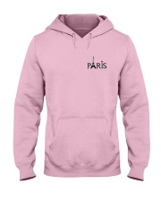 Love Paris Hooded Sweatshirt front