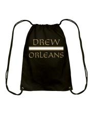 drew orleans shirt- Drew Brees inspired Drawstring Bag thumbnail