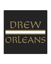 drew orleans shirt- Drew Brees inspired Square Coaster thumbnail