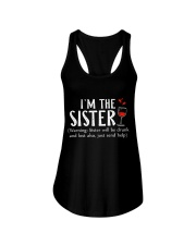 I'm the Sister Ladies Flowy Tank front