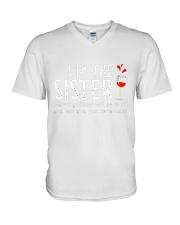 I'm the Sister V-Neck T-Shirt thumbnail