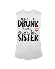 If lost or drunk-white Sleeveless Tee thumbnail