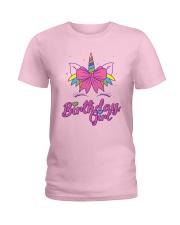 Cute Birthday Girl Unicorn T-Shirt Ladies T-Shirt thumbnail