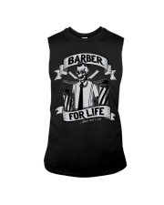 Barber For Life Shave and Cut BW T-Shirt Sleeveless Tee thumbnail
