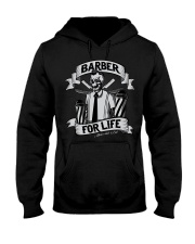 Barber For Life Shave and Cut BW T-Shirt Hooded Sweatshirt thumbnail