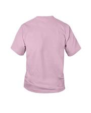 Fabulous Since 2008 Birthday Unicorn T-Shirt Youth T-Shirt back